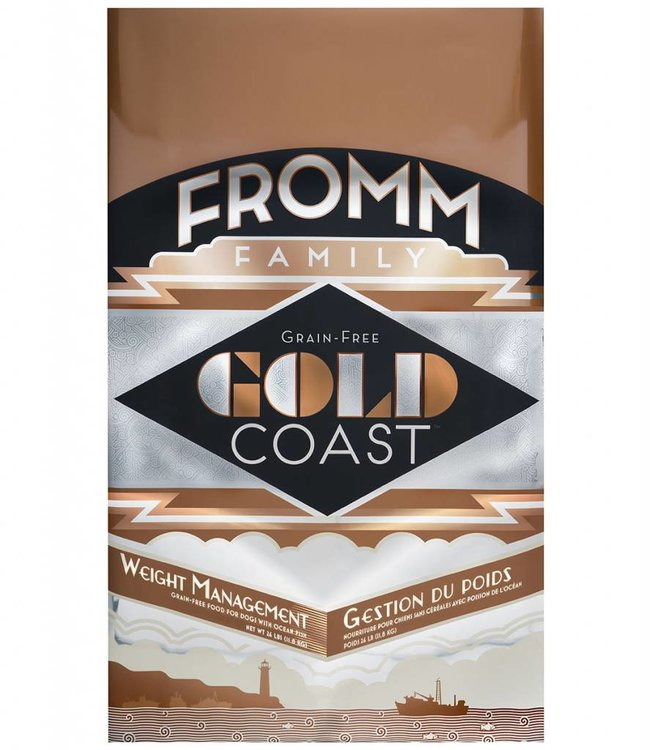Fromm Fromm Dog Gold Coast Weight Management Grain-Free 26lbs