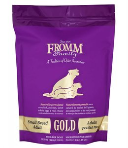 Fromm Dog Gold Small Breed Adult 5lbs