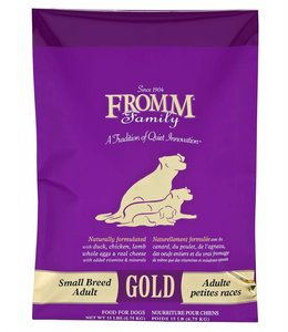 Fromm Dog Gold Small Breed Adult 15lbs