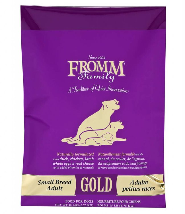 Fromm Fromm Dog Gold Small Breed Adult 15lbs