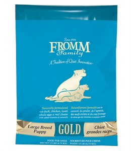 Fromm Dog Gold Large Breed Puppy 15lbs