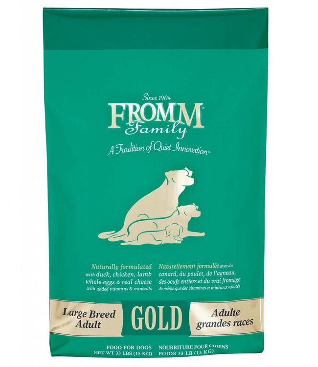Fromm Fromm Dog Gold Large Breed Adult 30lbs