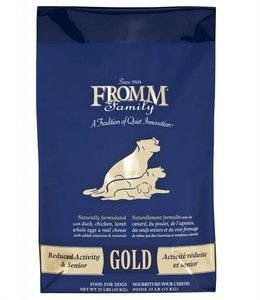 Fromm Dog Gold Reduced Activity & Senior 33lbs