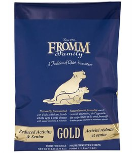 Fromm Dog Gold Reduced Activity & Senior 15lbs