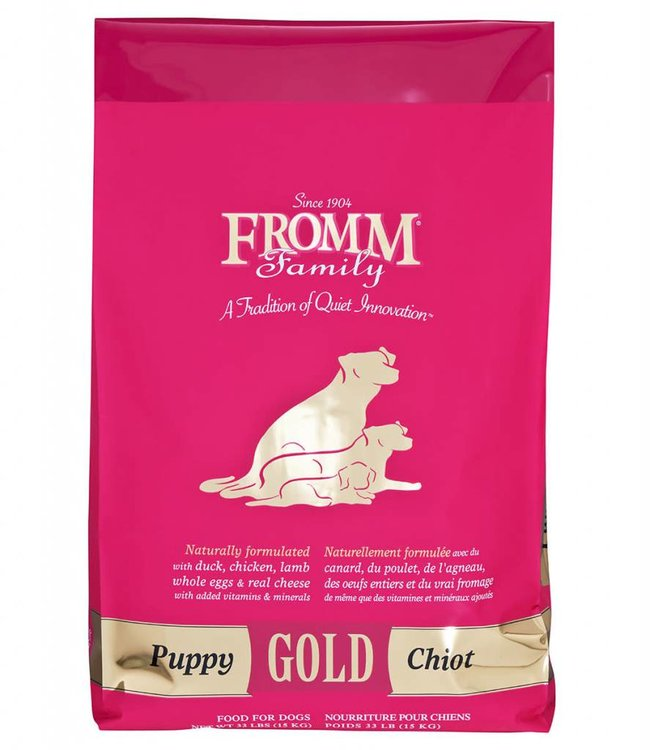 Fromm Fromm Puppy Gold 33lbs
