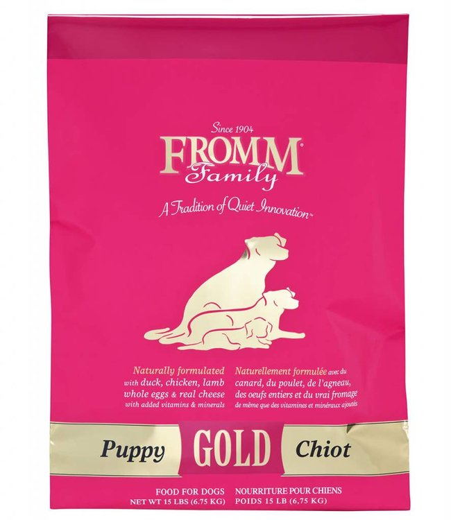 Fromm Fromm Puppy Gold 15lbs