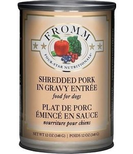 Fromm Shredded Pork Entree Can 12oz