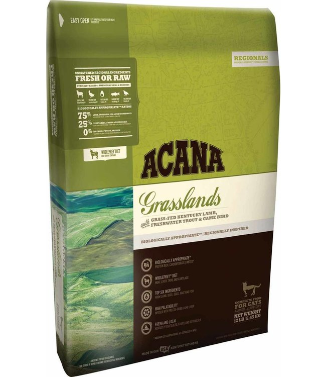 Acana Acana Cat Grasslands Regionals 12lbs