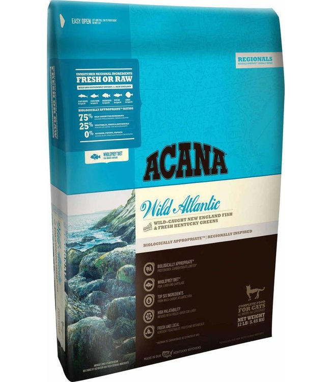 Acana Acana Cat Wild Atlantic Regionals 12lbs
