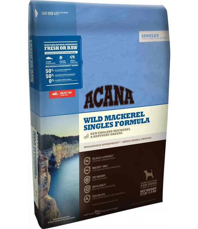 Acana Dog Singles Wild Mackerel Formula 4.5lbs