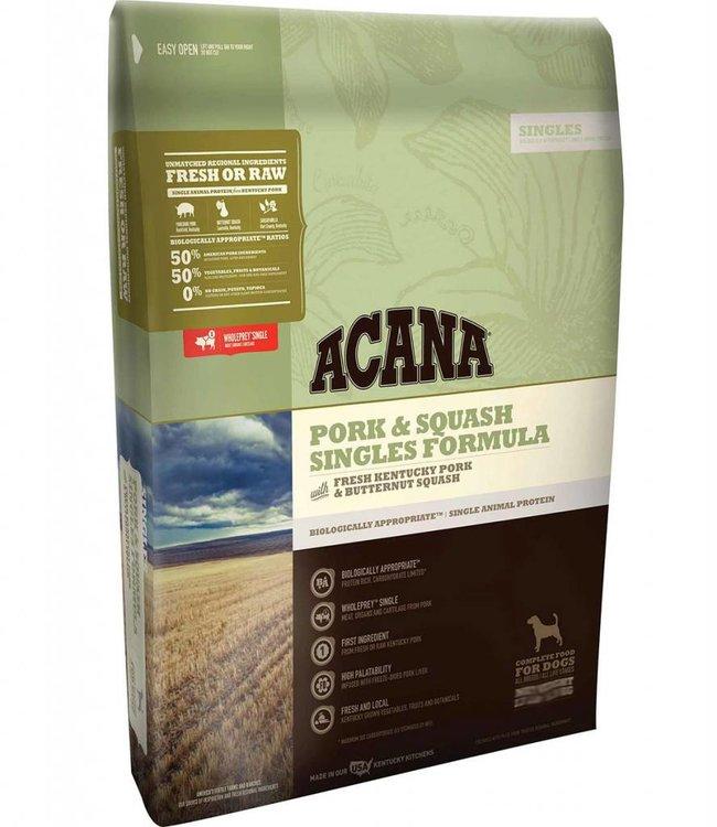 Acana Dog Singles Pork & Squash Formula 4.5lbs