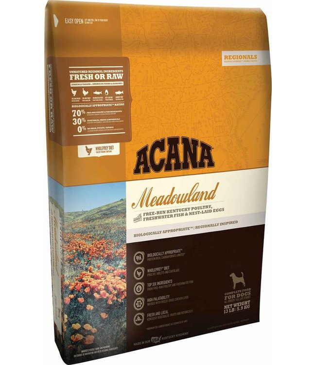 Acana Dog Meadowland Regionals 4.5lbs