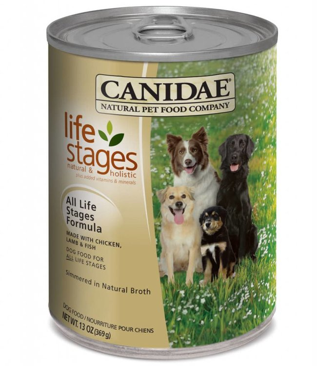 Canidae Dog All Life Stages Can 13oz