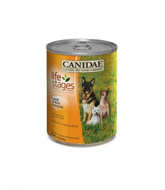 Canidae Dog Lamb & Rice Can 13oz