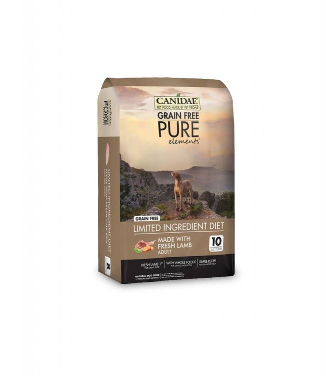 Canidae Grain-Free Pure Elements Lamb 24lbs