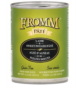 Fromm Dog Lamb & Sweet Potato Pate Grain-Free 12.2oz