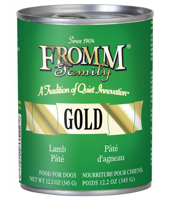 Fromm Fromm Dog Lamb Pate Gold 12.2oz