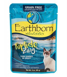 Earthborn Holistic Grain Free Riptide Zing Cat Pouch 3oz