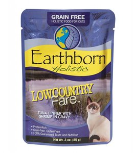 Earthborn Holistic Grain Free Low Country Fare Cat Pouch 3oz