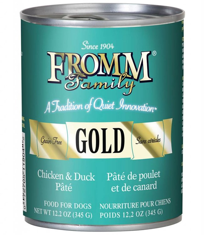 Fromm Chicken/Duck Pate Can 12.2oz