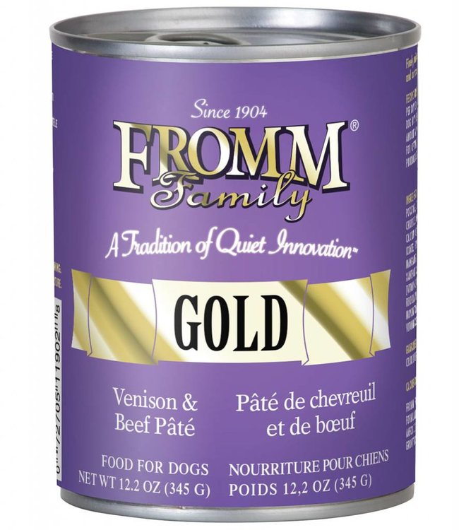 Fromm Cat Four Star Beef & Venison Pate 5.5oz
