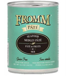 Fromm Dog Seafood Medley Pate Grain-Free 12.2oz