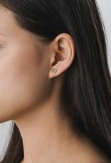 LOVERS TEMPO 1HH13001-MNT SWAROVSKI MINI POST EARRINGS - PACIFIC OPAL