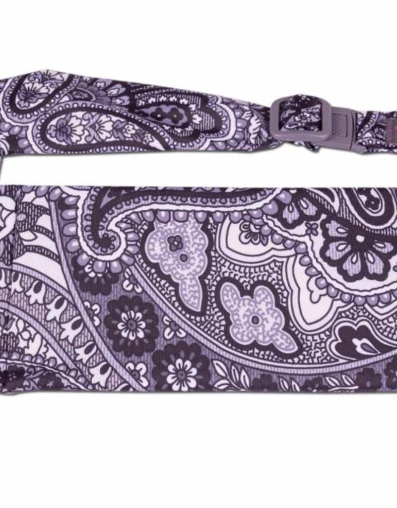 150-4014 BLACK PAISLEY LARGE POCKET BELT
