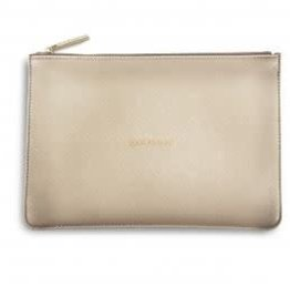 KATIE LOXTON KLB204 PERFECT POUCH - SPARKLE EVERYDAY - METALLIC GOLD