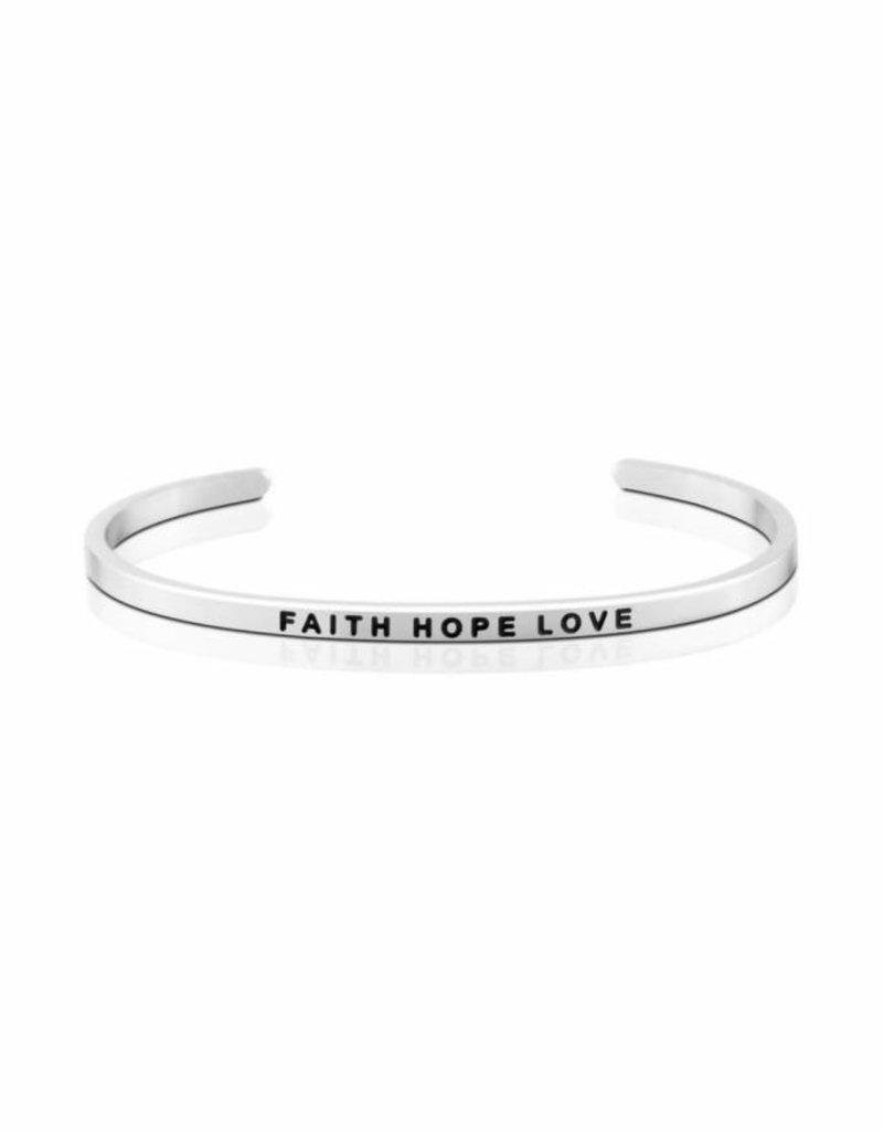 MANTRABAND FAITH HOPE LOVE