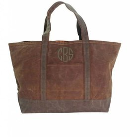Waxed Canvas Large Boat Tote WM