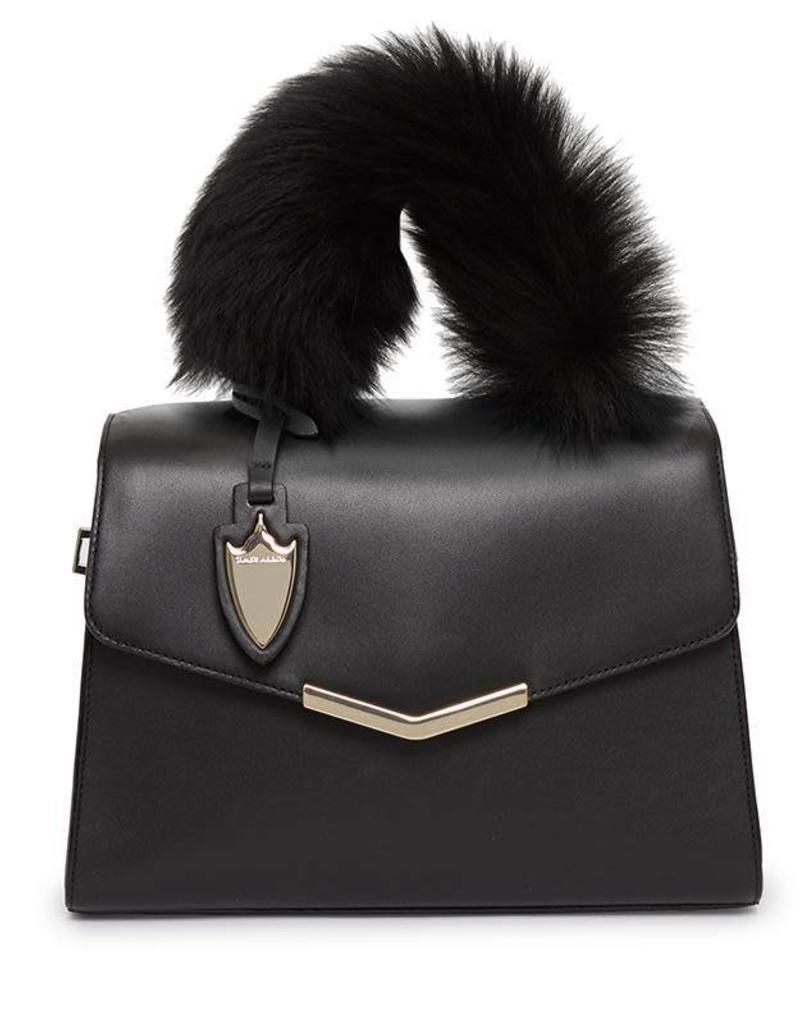 Ava Satchel with Fur