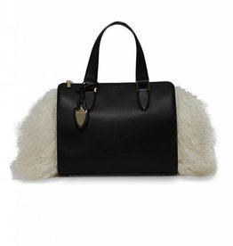 Cameron Satchel With Fur