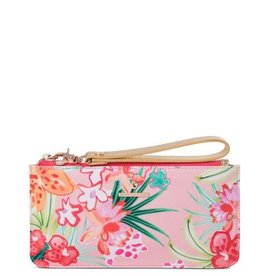 Spartina 449 960446 RETREAT EAST WEST WRISTLET FLAMINGO FLORAL Available in store! Please contact 516-766-3100!