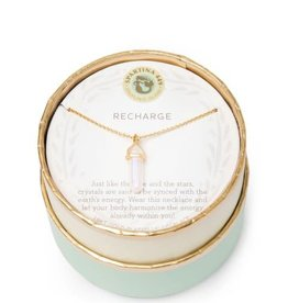 "Spartina 449 965731 SEA LA VIE NECKLACE 18"" RECHARGE/OBELISK Available in store! Please contact 516-766-3100!"