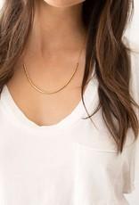 GORJANA 169-108-G Laguna Adjustable Necklace (gold)