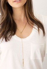 GORJANA 169-108-G Laguna Adjustable Necklace (gold)