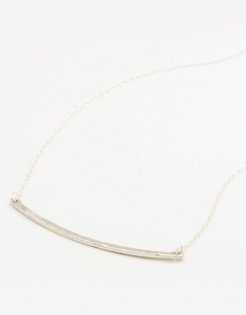 GORJANA 103-105-S Taner Bar Necklace (small) (silver)