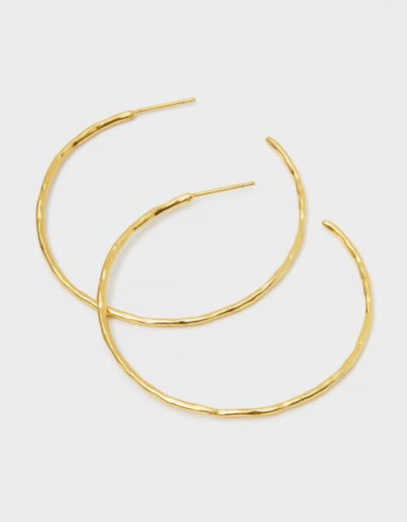 GORJANA 188-008-G Taner Hoops (gold)