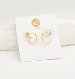 GORJANA 143-019-G Taner Mini Hoops (gold)