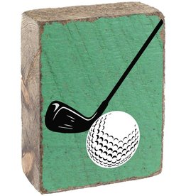 RUSTIC MARLIN Rustic Block Golf - Green, White, Black