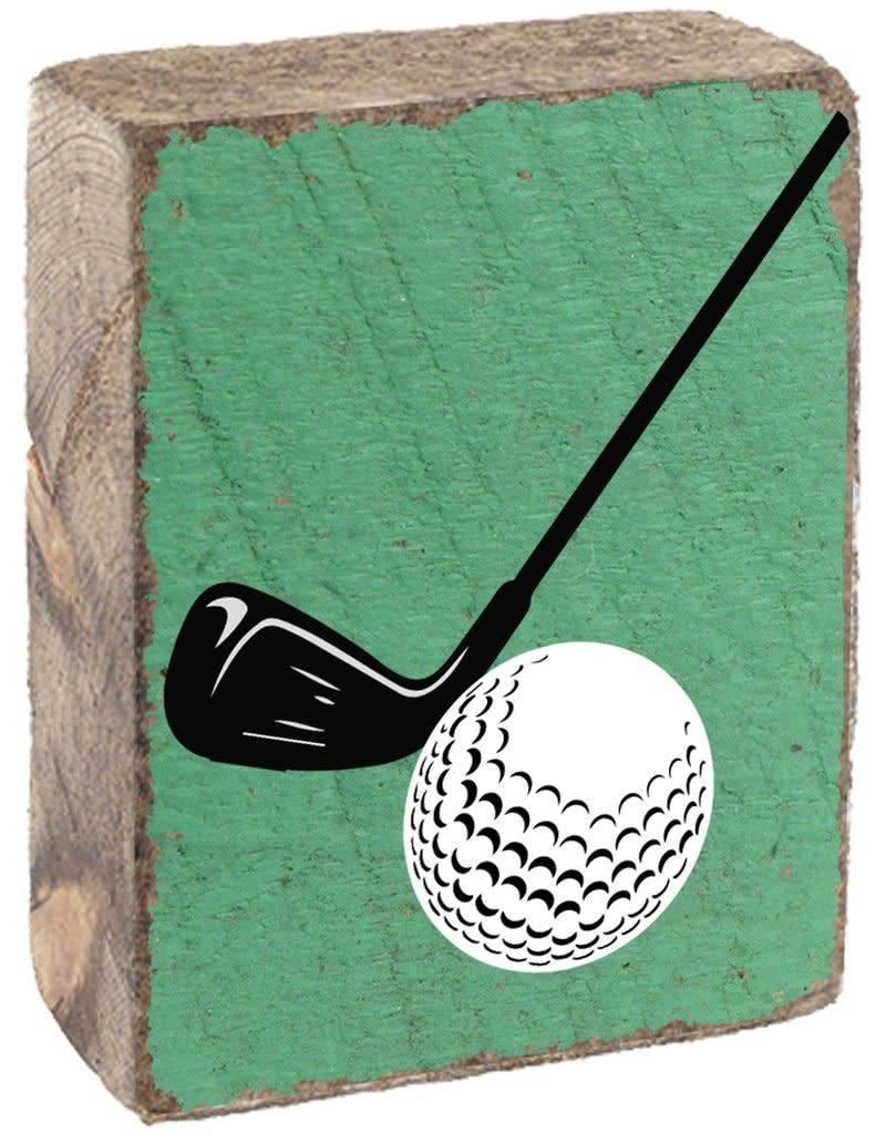 RUSTIC MARLIN Rustic Block Golf - Green, White, Black