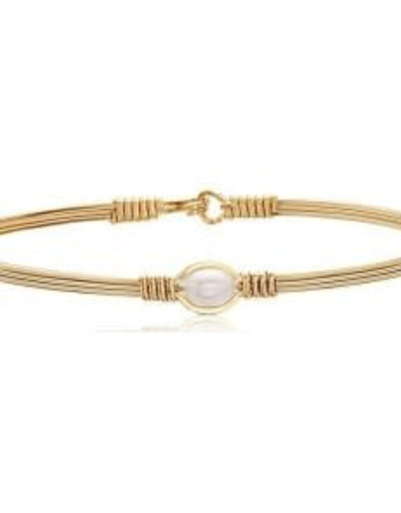 RONALDO B209MAG PEARL OF MY HEART BRACELET14K GOLD ARTIST WIRE