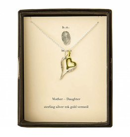 B U NE155K MOTHER DAUGHTER NECKLACE