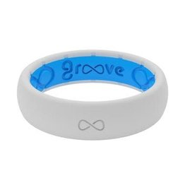 GROOVELIFE THIN SILICONE RING | SNOW