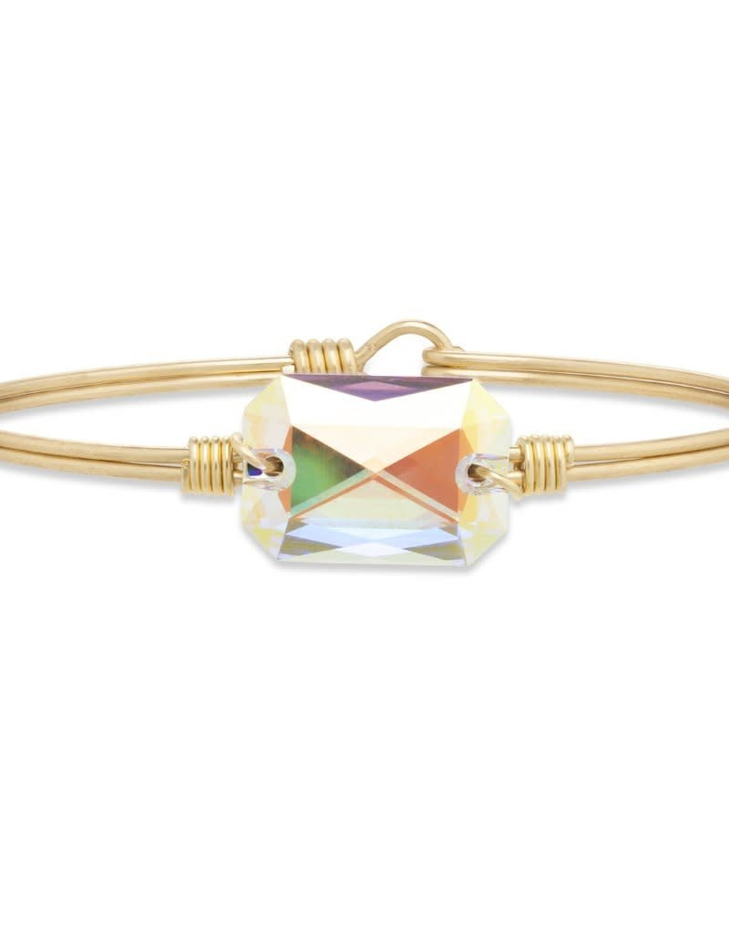LUCA AND DANNI STC662S DYLAN BANGLE BRACELET IN CRYSTAL AB_REGULAR_SILVER TONE