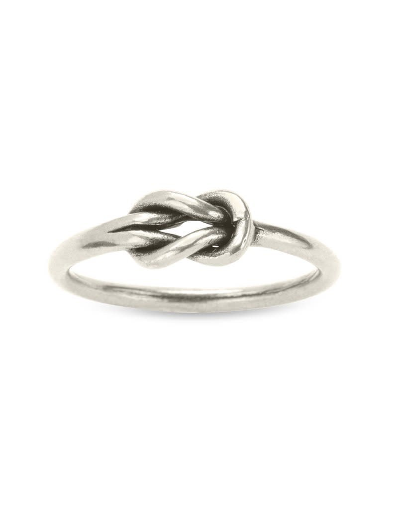 LUCA AND DANNI RG117S7 LOVERS KNOT RING SILVER SIZE 7