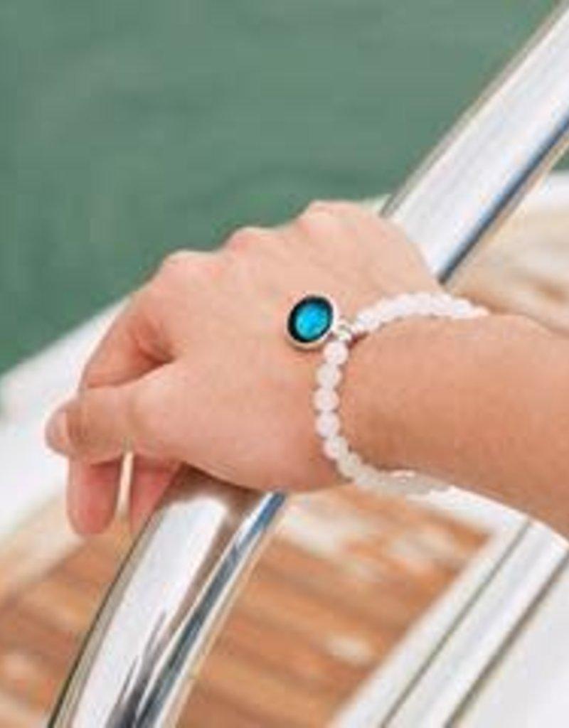 MOONGLOW JEWELRY Beaded Bracelet in White