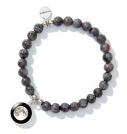 MOONGLOW JEWELRY Beaded Bracelet in Black