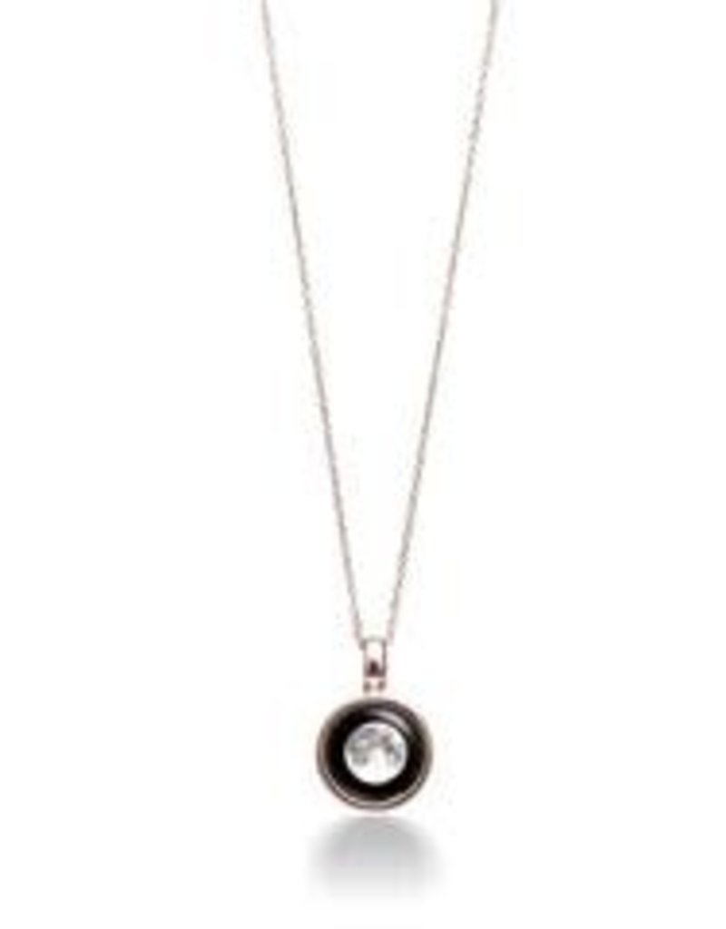 MOONGLOW JEWELRY Sky Light Rose Gold Necklace